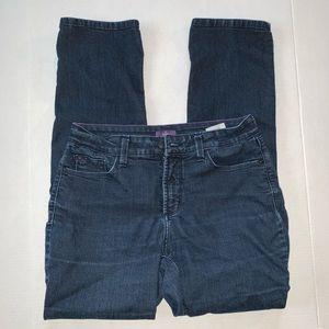 NYDJ Skinny Medium Wash Denim Jeans